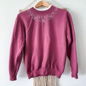 Vintage Snowflake Grandma Sweatshirt